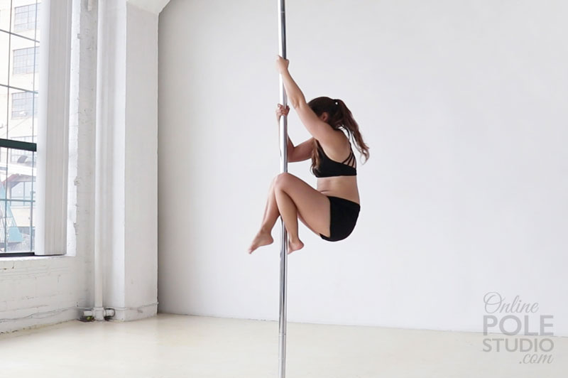 how to pole dance video