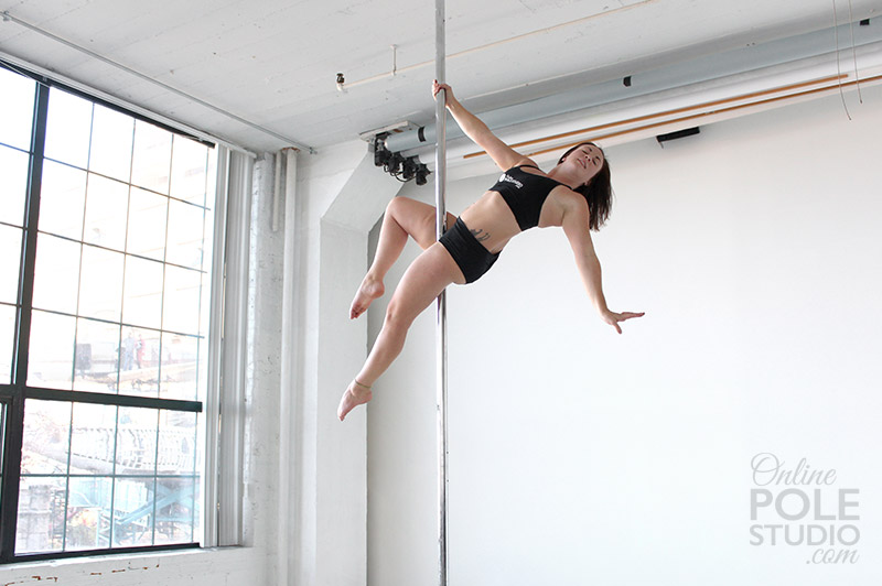 Pole Sit Variation